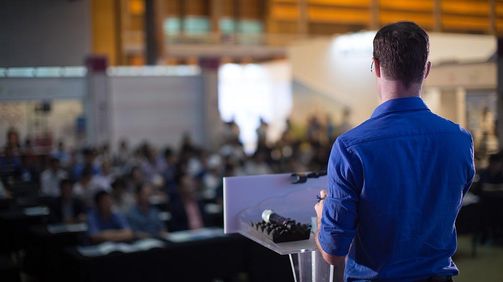 Public speaking courses can improve confidence